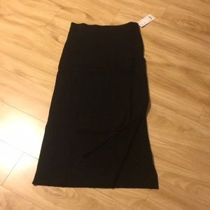 Uniqlo Women merino blend ribbed skirt size M